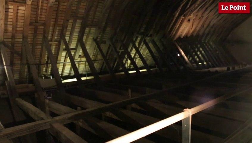 Visite interdite du château de Blois #2 : La charpente de la salle des États généraux de 802 ans !
