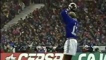 Zinédine Zidane 7ème but | France vs Espagne (1-0) | 1998