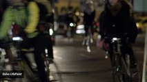 Volvo Creates Transparent Spray That Helps Bicycles Shine At Night