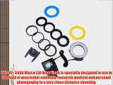 Neewer? 48 Macro LED Ring Flash Light Includes 4 Diffusers (Clear Warming Blue White) For Canon