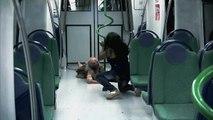 Attaque de zombies dans le métro (Prank)