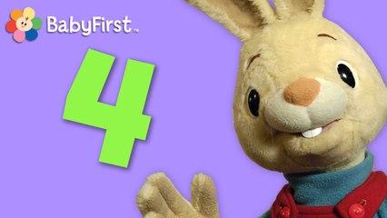 Henry le lapin. Apprenons ensemble les chiffres - 4
