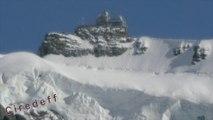 3/6 Tourisme en Suisse Le Toit de l'Europe Kleine Scheidegg Grindelwald --Tourism in Switzerland Top of Europe -- Tourismus in der Schweiz Besuchen Sie Sternwarte -- Turismo in Svizzera Visitare Osservatorio Astronomico