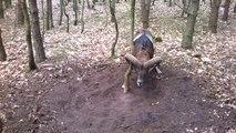 Un mouflon coincé dans un arbre sauvé par un joggeur