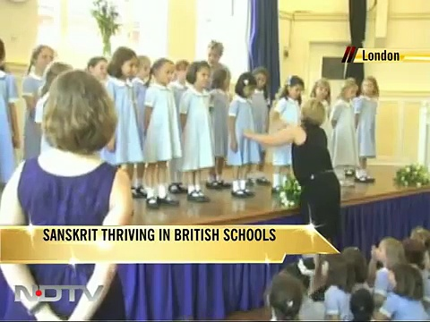 Sanskrit thriving in British schools