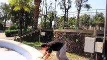 Alessandro Catalano - Fountain Flow - Parkour/Freerunning 2014