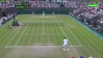 Milos Raonic vs Kei Nishikori - 2014 Wimbledon Men Singles R4 - Highlights