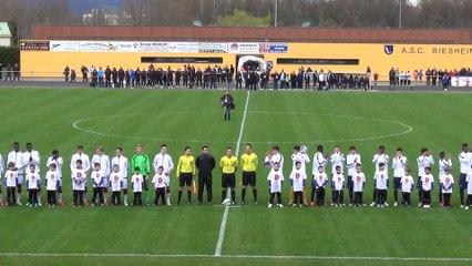 U18 : France - Allemagne (2-0) à Biesheim