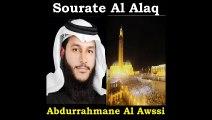 Sourate Al Alaq - Abdurrahmane Al Awssi