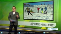 Sepidan Ski Resort in Iranian Fars province attracts winter sports fans