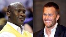 Tom Brady Plays Basketball With Michael Jordan, MJ Talks Some Trash