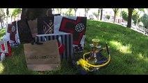 Slackline Neuquen en Tecnopolis - Torneo de Trickline - Pump Slacklines