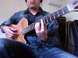The Hellion/Electric Eye (Judas Priest) Flamenco guitar-Ben Woods: HEAVY MELLOW
