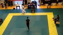 1/8 ème et 1/4 de finale coupe de France Karaté Jutsu Fabien LAFOUX -80kg