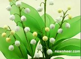 DIY Instruction Handmade Lily of the Valley Wedding Bouquet with Nylon Stocking