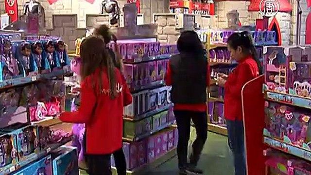 Крупнейший магазин игрушек Hamleys открылся в Москве