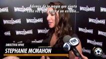 Stephanie McMahon, contenta por el HHH vs. Sting