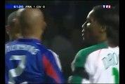Zinédine Zidane 27ème but   France vs Côte d'Ivoire (3-0)   2005