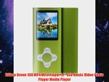 RShop Green 16G MP4 MP3 Player 17 LCD Music Video Photo Player Media Player