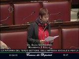 Silvia Giordano (M5S): riforma Terzo settore, no ad una legge delega - MoVimento 5 Stelle