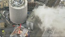 Holborn electrical fire causes mass evacuation