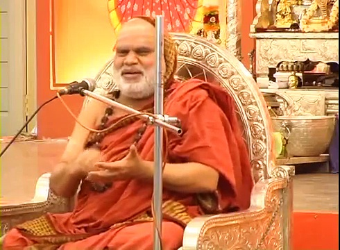 Sanskrit speech by Sringeri Sankaracharya Sri Bharathi Theertha Mahaswamiji on Sanskrit[FULL]