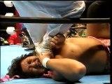 Heisei Ishingun (Kengo Kimura & Shiro Koshinaka) vs. Koki Kitahara & Samson Fuyuki (WAR)