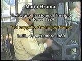 """Campane a Bergamo. Mario Bronco suona le cinque campane di Lallio. """"Sul cappello che noi portiamo"""""""