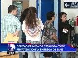 Colegio de Médicos cataloga como privatización la entrega de EBAIS del este