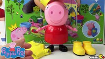 Peppa Pig Nickelodeon Peppa Pig Rainy Day - New Animated Cartoon Peppa Pig 2015 Toy Collection