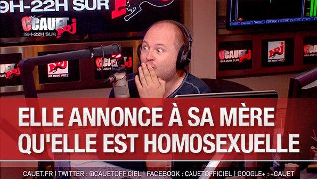 Elle annonce en direct à sa mère qu'elle est homosexuelle  -C'Cauet sur NRJ
