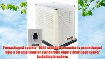 Generac 5837 CorePower Series 7000 Watt Air-Cooled Natural Gas/Liquid Propane Powered Standby