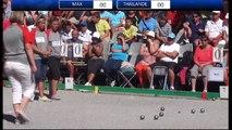 Mondial de Millau 204 : finale du triplette féminin et demi-finale doublette hommes