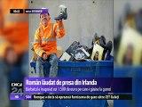 Un român este lăudat de presa din Irlanda, după ce a înapoiat 1.500 de euro pe care-i găsise la gunoi.