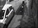 Laptop stolen from car within a minute watch CCTV Footage