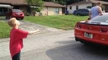 Guy Pulls Kid's Tooth Using A Camaro