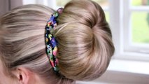 How to: Doughnut Bun | Quick & Easy Hairstyles | Braids, Buns and Twists