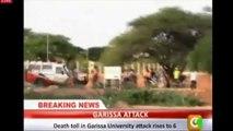 Kenya : violente attaque des shebabs contre l'université de Garissa