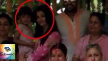 Pics - Aishwarya, Aaradhya, Abhishek Attend Family Wedding - The Bollywood