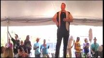 Scott Michael sings Sweet Caroline at Elvis Week 2012 in Memphis video