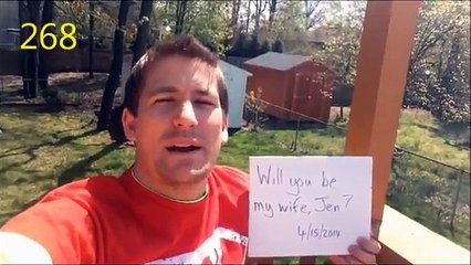 Best Marriage Proposal of 2015 (Warning: Will Make You Cry!) - 365 Day Engagement