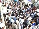 Karachi: Student burnt by terrorists died in hospital-Geo Reports-02 Apr 2015