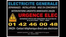 ELECTRICITE PARIS 14 75014 DEPANNAGE IMMEDIAT