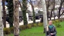 Russian Military Forces Block Ukrainian Military Base Near Sevastopol In Crimea, Mar 1 2014