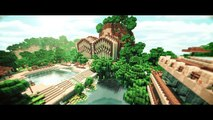 BLUR - Minecraft Cinematic (w/ Sonic Ether's Shaders + Water Shader + Real Clouds + Mountain Map)
