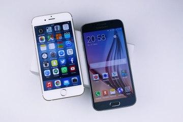 Samsung Galaxy S6 vs Apple iPhone 6 - Vergleich