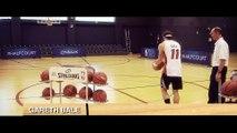 Challenge en Basket-ball pour Gareth Bale : Marquer des paniers du milieu de terrain