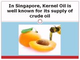 In Singapore, Kernel Oil is well known for its supply of crude oil