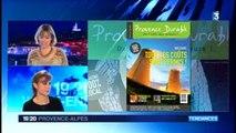 Magali Chouvion présente le magazine Provence Durable au JT de France 3