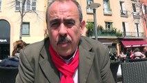 Nicolas Garcia conseiller départemental communiste des Pirénées-Orientales interview par Nicolas Caudeville